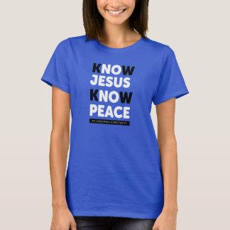 Camiseta Saiba que Jesus sabe a paz, nenhuma censura