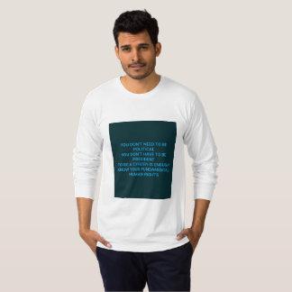 Camiseta Saiba seus direitos humanos fundamentais