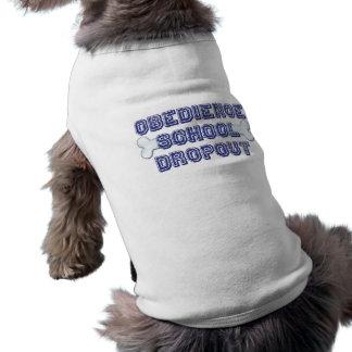 Camiseta Saída da escola da obediência