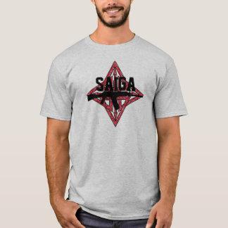 Camiseta Saiga 12 - Estrela da silhueta de Saiga
