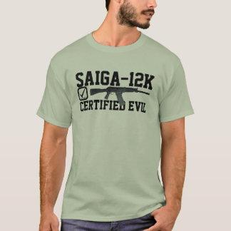 Camiseta Saiga 12 - Lista de verificação má certificada