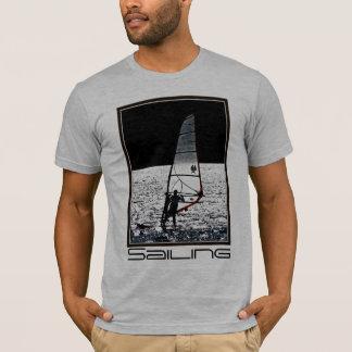 Camiseta Sailboarding/T homens windsurfing