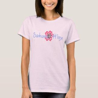 Camiseta Sakura Hime (princesa da flor de cerejeira)
