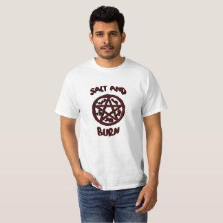 Camiseta Sal e queimadura