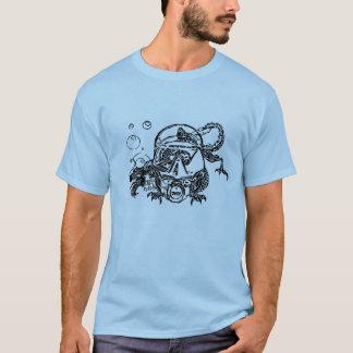 Camiseta Sal obtido - caçador subaquático