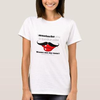 Camiseta Sala da ruptura de Kelley (bigode)