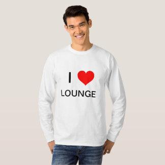 Camiseta Sala de estar do amor do homem da SALA DE ESTAR,