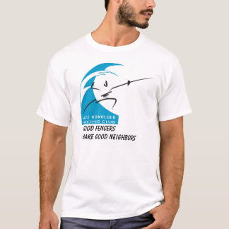 Camiseta Salle Honolulu: os bons esgrimistas fazem bons