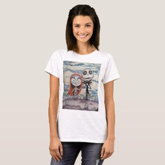 Camiseta Sally ama Jack: o T básico das mulheres!