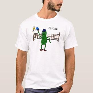 Camiseta Salmoura que joga a arte do primitivo de