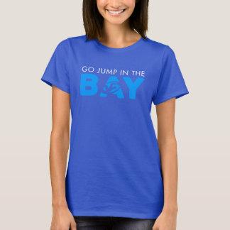 Camiseta Salte no T das mulheres da baía