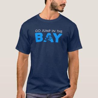 Camiseta Salte no T de homens de baía