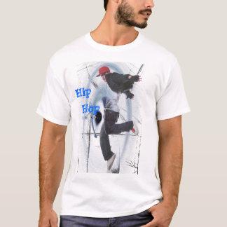 Camiseta salto do hip-hop