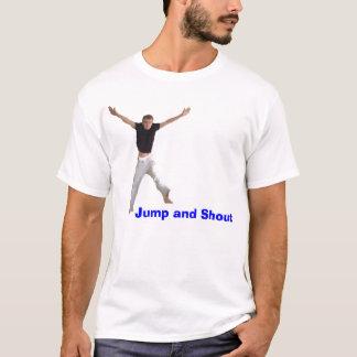 Camiseta Salto e grito