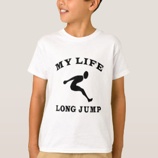 Camiseta Salto longo minha vida