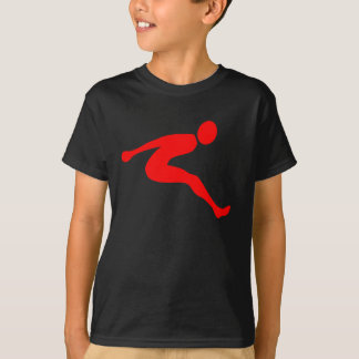 Camiseta Salto longo - vermelho