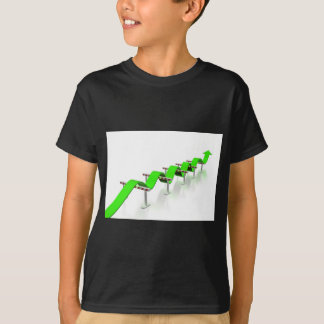 Camiseta Salto sobre alguns obstáculos