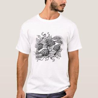 Camiseta Saltos & cevada (o T do amante da cerveja do