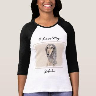 Camiseta Saluki (jovem corça)
