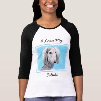 Camiseta Saluki (prata)