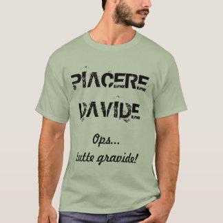Camiseta Saluto p do un do nome de Ogni…. - DAVIDE