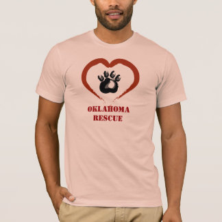 Camiseta Salvamento animal de Oklahoma