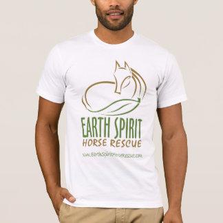 Camiseta Salvamento do cavalo do espírito da terra - Tshirt