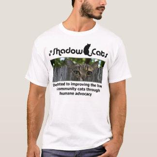 Camiseta Salvamento dos gatos da sombra