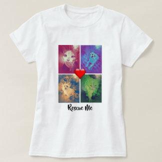 Camiseta Salvamento vivo do amor - t-shirt do salvamento do