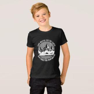 Camiseta salvar a água