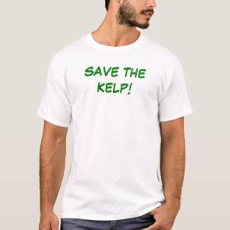 Camiseta Salvar a alga
