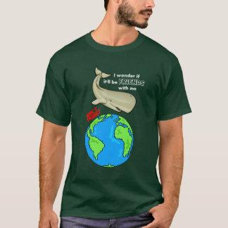 Camiseta Salvar a baleia