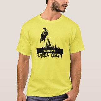 Camiseta Salvar a costa de Florida