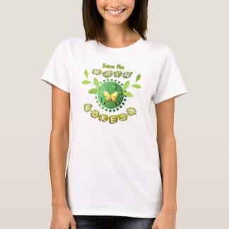 Camiseta Salvar a floresta húmida