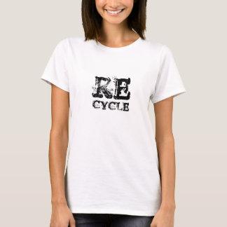 Camiseta SALVAR a gema do reciclar do tshirt da TERRA