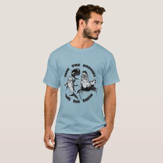 Camiseta Salvar a terra