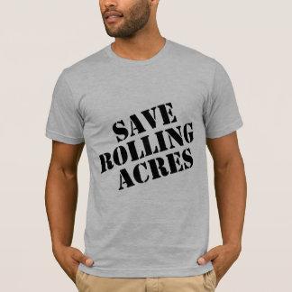 Camiseta Salvar acres de rolamento