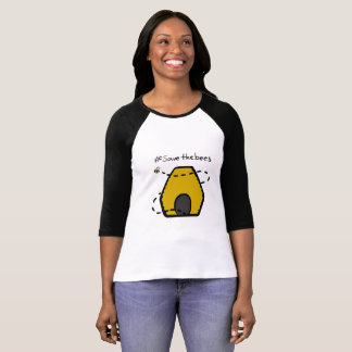 Camiseta Salvar as abelhas