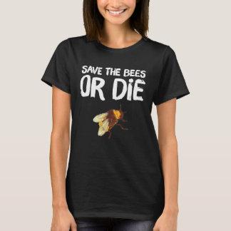 Camiseta Salvar as abelhas ou morra