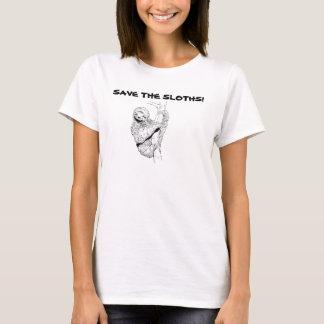 Camiseta Salvar as preguiças