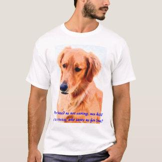 Camiseta Salvar cães de animal de estimação