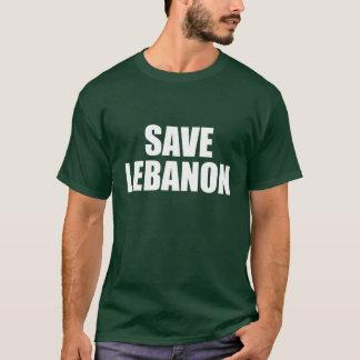 Camiseta Salvar Líbano