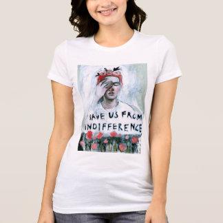 Camiseta Salvar nos da indiferença
