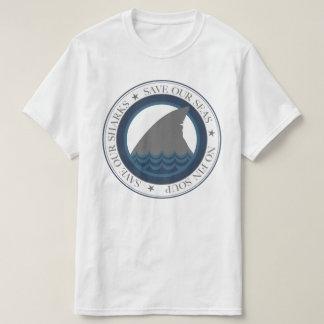 Camiseta salvar nossos tubarões