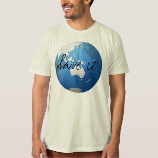 Camiseta Salvar o
