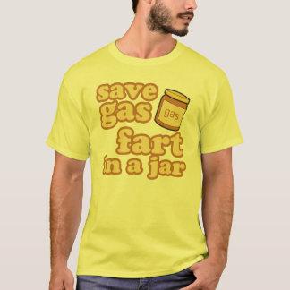Camiseta Salvar o gás - Fart em um frasco