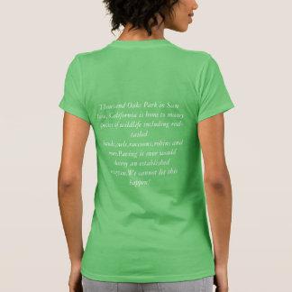 Camiseta Salvar o parque de Thousand Oaks em San Jose