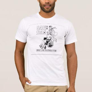 Camiseta Salvar o passeio do gás o Handicaped