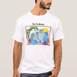 Camiseta Salvar o peixe-boi
