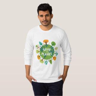 Camiseta Salvar o planeta